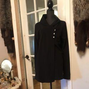 Danskin black cardigan sweater size XL